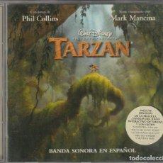 CDs de Música: B.S.O. TARZAN (CD DISNEY 1999) BANDA SONORA EN ESPAÑOL. Lote 156493278