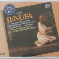 CDs de Música: JANACEK: JENUFA. CHARLES MACKERRAS. . Lote 156494286