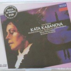 CDs de Música: JANACEK: KATA KABANOVA. CHARLES MACKERRAS.. Lote 156494402