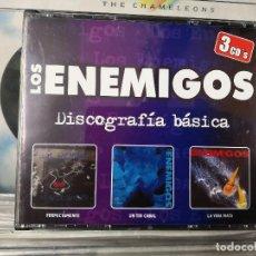 CDs de Música: LOS ENEMIGOS,DISCOGRAFIA BASICA,3 CDS,FERPECTAMENTE,UN TIO CABAL,LA VIDA MATA. Lote 156528098