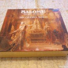 CDs de Música: SIR GEORG SOLTI SALOME 2 CD'S. Lote 156534669