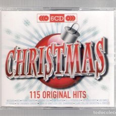 CDs de Música: VARIOS - CHRISTMAS. 115 ORIGINAL HITS (6CD SET 2009, MUSIC FROM EMI 50999 6 84697 2 6). Lote 156542498