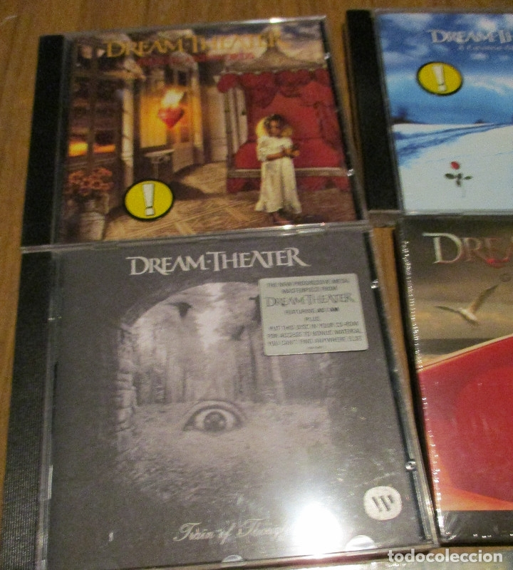 CDs de Música: 10 CD - DREAM THEATER y JAMES LABRIE-AWAKE-TRAIN OF THOUGHT-IMAGES AND WORDS-GREATEST HIT........... - Foto 2 - 91668360