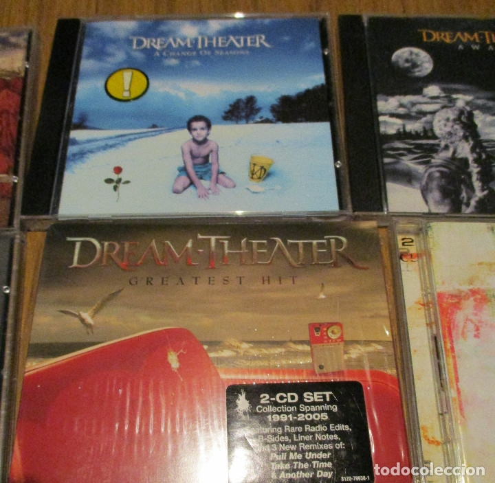 CDs de Música: 10 CD - DREAM THEATER y JAMES LABRIE-AWAKE-TRAIN OF THOUGHT-IMAGES AND WORDS-GREATEST HIT........... - Foto 3 - 91668360