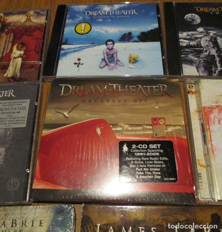 CDs de Música: 10 CD - DREAM THEATER y JAMES LABRIE-AWAKE-TRAIN OF THOUGHT-IMAGES AND WORDS-GREATEST HIT........... - Foto 4 - 91668360