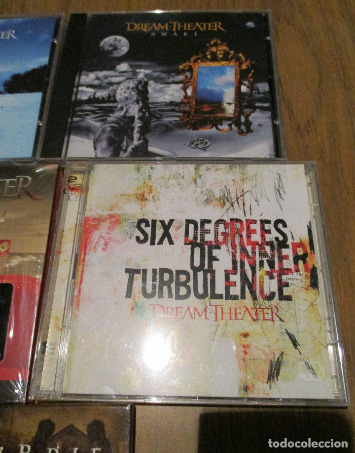 CDs de Música: 10 CD - DREAM THEATER y JAMES LABRIE-AWAKE-TRAIN OF THOUGHT-IMAGES AND WORDS-GREATEST HIT........... - Foto 5 - 91668360