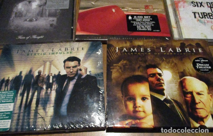 CDs de Música: 10 CD - DREAM THEATER y JAMES LABRIE-AWAKE-TRAIN OF THOUGHT-IMAGES AND WORDS-GREATEST HIT........... - Foto 6 - 91668360