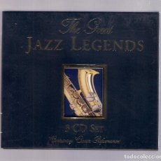 CDs de Música: VARIOS - THE GREAT JAZZ LEGENDS (3CD SET 2001, LIMITED, RAJON MUSIC GROUP RMGG 3048). Lote 156546730