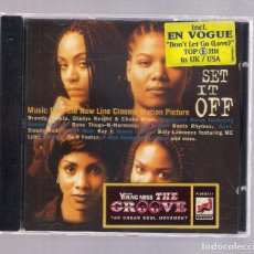CDs de Música: SET IT OFF - MUSIC FROM THE NEW LINE CINEMA MOTION PICTURE (CD 1996, EASTWEST 7559-61995-2). Lote 156550618