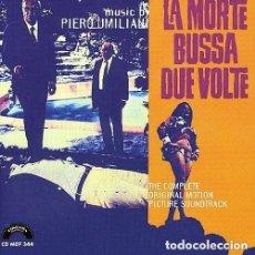 CDs de Música: LA MORTE BUSSA DUE VOLTE / PIERO UMILIANI CD BSO. Lote 156564674
