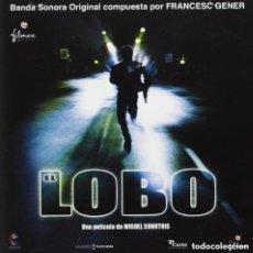 CDs de Música: EL LOBO / FRANCESC GENER 2CD BSO. Lote 156565202
