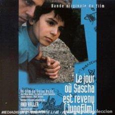 CDs de Música: LE JOUR OU SACHA EST REVENU (JUGOFILM) / ANDI HALLER CD BSO. Lote 156565990