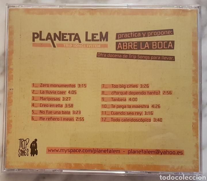 CDs de Música: PLANETA LEM- ABRE LA BOCA CD. REGGAE ROCK - Foto 2 - 156566301