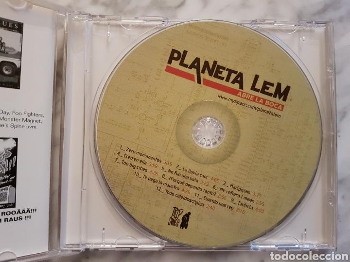 CDs de Música: PLANETA LEM- ABRE LA BOCA CD. REGGAE ROCK - Foto 3 - 156566301