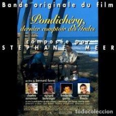 CDs de Música: PONDICHÉRY: DERNIER COMPTOIR DES INDES / STÉPHANE MEER CD BSO. Lote 156566478