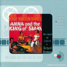 CDs de Música: ANNA AND THE KING OF SIAM / BERNARD HERRMANN CD BSO. Lote 156567154