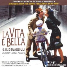 CDs de Música: LA VITA È BELLA (LIFE IS BEAUTIFUL) / NICOLA PIOVANI CD BSO. Lote 156567874
