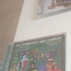 CDs de Música: G-PPVP19 CD MUSICA CARNAVAL DE CADIZ NUEVO PRECINTADO CHIRIGOTA CONTIGO APRENDI . Lote 156601614