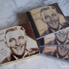 CDs de Música: CD THE VERY BEST OF BING. BING CROSBY. 3 CD'S, 60 TEMAS. EDICIÓN INGLESA.. Lote 156603702