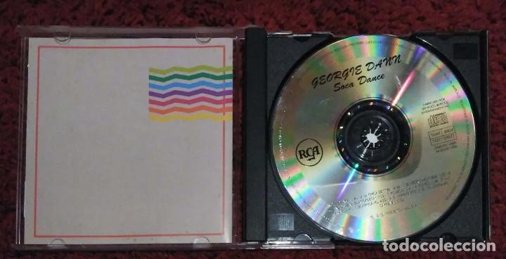 CDs de Música: GEORGIE DANN (SOCA DANCE Y OTROS GRANDES EXITOS) CD 1992 - Foto 3 - 156610730