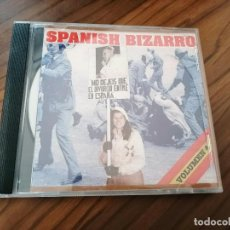 CD di Musica: SPANISH BIZARRO. CD EN BUEN ESTADO RECOPILATORIO. MAQUETA. CON 27 TEMAS. RARO. Lote 232919145