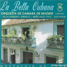CDs de Música: LA BELLA CUBANA. ORQUESTA CÁMARA DE MADRID. CD. Lote 156633230