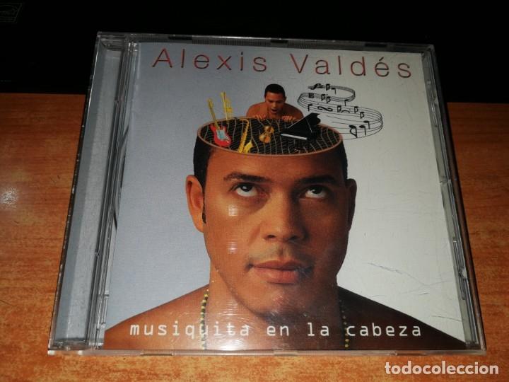 ALEXIS VALDES MUSIQUITA EN LA CABEZA CD ALBUM DEL AÑO 2001 CARLOS QUINTERO CONTIENE 10 TEMAS (Música - CD's Latina)
