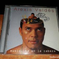 CDs de Música: ALEXIS VALDES MUSIQUITA EN LA CABEZA CD ALBUM DEL AÑO 2001 CARLOS QUINTERO CONTIENE 10 TEMAS. Lote 156642094