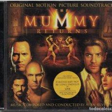 CDs de Música: CD - EL REGRESO DE LA MOMIA - SOUND TRACKS - VARIOS. Lote 156646854