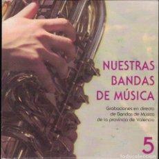CDs de Música: NUESTRAS BANDAS DE MUSICA 5 - VARIOS. Lote 156647742