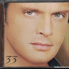 CDs de Música: CD - 33 - LUIS MIGUEL. Lote 156648130