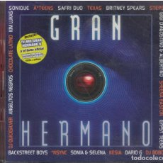 CDs de Música: MUSICA GRAN HERMANO 2 CD'S. Lote 156648286