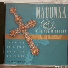 CDs de Música: OTTO VON WERNHERR & MADONNA CD. Lote 156653270