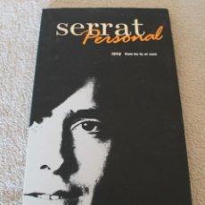 CDs de Música: CD SERRAT PERSONAL 1969 COM HO FA EL VENT CON LIBRETO. Lote 156655142