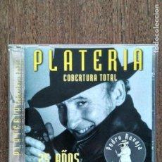 CDs de Música: CD ORQUESTA PLATERIA COBERTURA TOTAL. Lote 156657990
