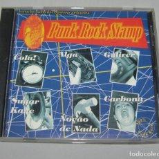 CDs de Música: VARIOUS – PUNK ROCK STAMP - BARULHO HARDCORE COMPANY. Lote 156670370