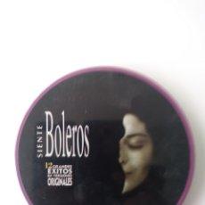 CDs de Música: SIENTE BOLEROS: 12 EXITOS ORIGINALES.(LATA METAL). Lote 156687364