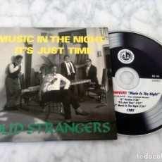 CDs de Música: MAXI-CD - SOLID STRANGERS - MUSIC IN THE NIGHT / IT'S JUST TIME - BLANCO Y NEGRO - 2014. Lote 156697710