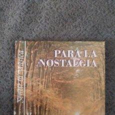 CDs de Música: SENTIR LA MUSICA: PARA LA NOSTALGIA.CD BOOK.1999. Lote 156728752