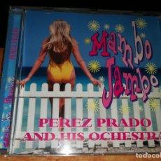 CDs de Música: PEREZ PRADO AND HIS ORCHESTRA MAMBO JAMBO CD ALBUM HECHO EN SUIZA CONTIENE 17 TEMAS. Lote 156730802