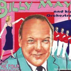 CDs de Música: BILLY MAY. THE ANDREWS SISTERS. BRASSMEN´S. THE FOUR FRESHMEN.PACK 2 CD´S. Lote 156731766