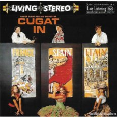 CDs de Música: XAVIER CUGAT. IN FRANCE SPAIN AND ITALY. CON ABBE LANE. PACK 2 CD´S. Lote 156732970