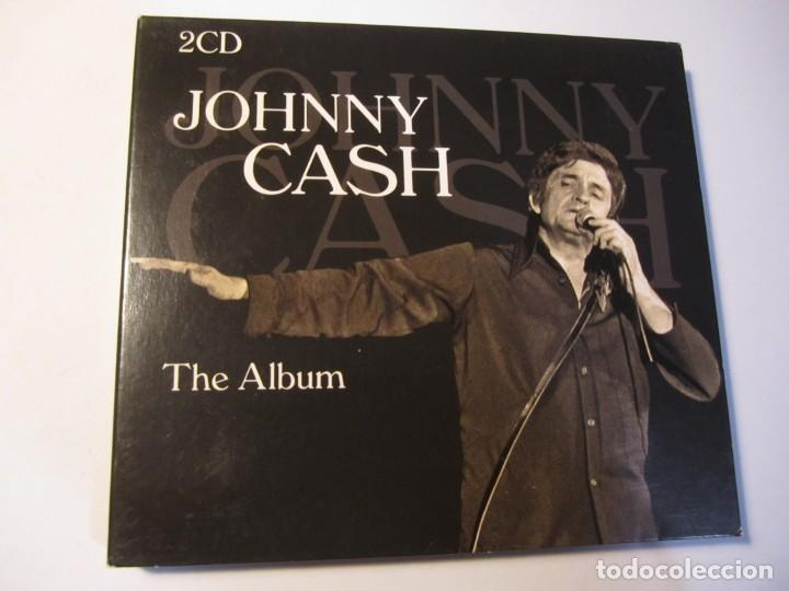 DOBLE CD JOHNNY CASH THE ALBUM (Música - CD's Country y Folk)