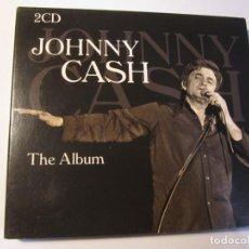 CDs de Música: DOBLE CD JOHNNY CASH THE ALBUM. Lote 156749766