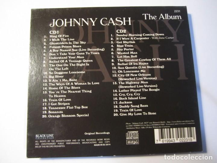 CDs de Música: doble cd johnny cash the album - Foto 3 - 156749766