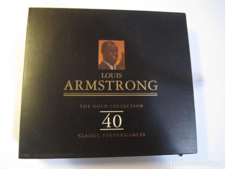 DOBLE CD LOUIS ARMSTRONG THE GOLD COLLECTION (Música - CD's Jazz, Blues, Soul y Gospel)