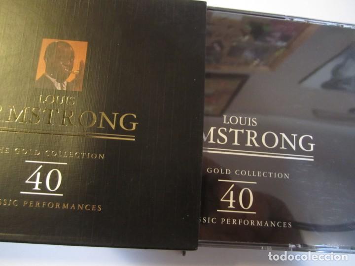 CDs de Música: doble cd louis armstrong the gold collection - Foto 3 - 229983680
