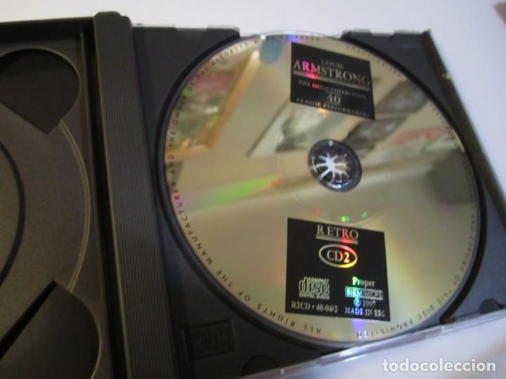 CDs de Música: doble cd louis armstrong the gold collection - Foto 4 - 229983680