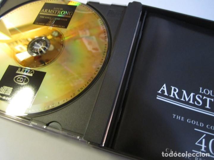 CDs de Música: doble cd louis armstrong the gold collection - Foto 5 - 229983680
