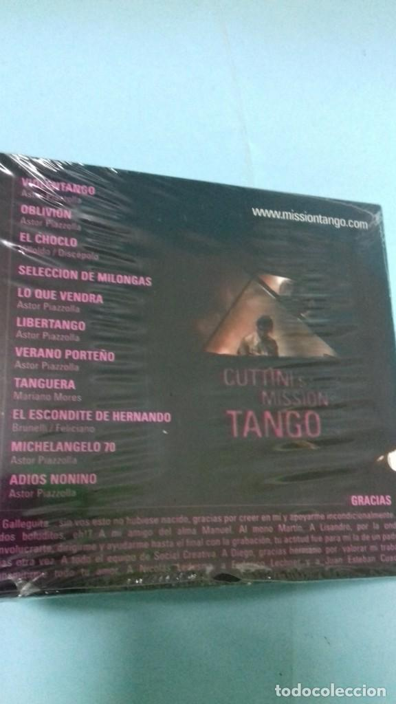 CDs de Música: CD Cuttini Mission Tango. Precintado. - Foto 2 - 156778066